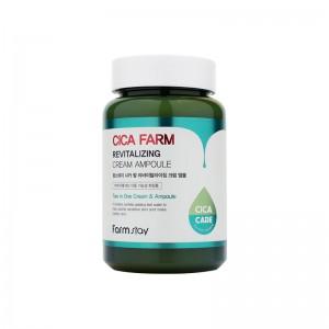 Восстанавливающий ампульный крем с центеллой азиатской FARMSTAY Cica Farm Revitalizing Cream Ampoule 250 мл