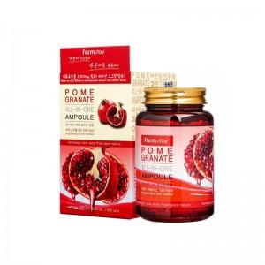 Ампульная сыворотка для лица с экстрактом граната FARMSTAY Pomegranate All-In One Ampoule 250мл