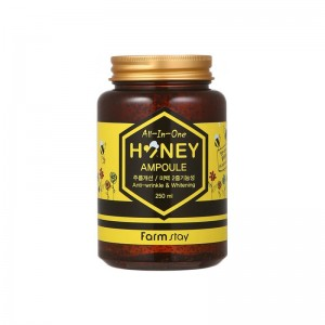 Многофункциональная сыворотка с медом FARM STAY All In One Honey Ampoule 250 мл