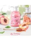Кремовый гель для душа с персиком FRUDIA My Orchard Peach Body Wash 350 мл