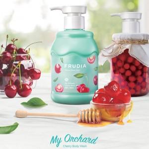 Питательный гель для душа с вишней FRUDIA My Orchard Cherry Body Wash 350 мл