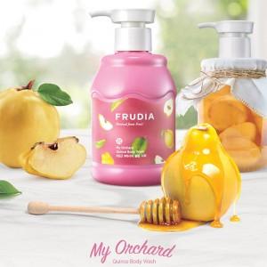 Расслабляющий гель для душа с айвой FRUDIA My Orchard Quince Body Wash 350 мл
