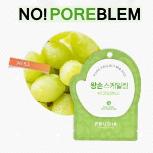 Отшелушивающий диск с зелёным виноградом FRUDIA Green Grape Pore Peeling Pad - 1 шт