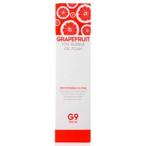 Пенка для умывания с экстрактом грейпрфрута G9SKIN Grapefruit Vita Bubble Oil Foam - 210мл