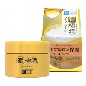 Увлажняющий гель для лица 3 в 1 для всех типов кожи HADA LABO Gokujyun Perfect Gel 100 гр