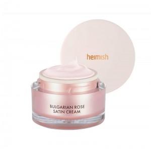 Крем с розой для сухой кожи HEIMISH Bulgarian Rose Satin Cream 55 мл