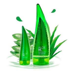 Увлажняющий гель для тела алоэ Holika Holika Aloe 99% Soothing Gel - 55 / 250ml