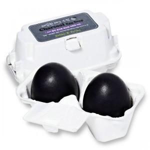 Мыло-маска для умывания с углем Holika Holika Charcoal Egg Soap - 50g*2