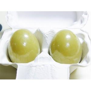Мыло-маска для умывания с зеленым чаем HOLIKA HOLIKA Egg Soap Green Tea Clay - 50g*2