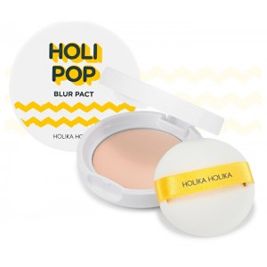 Пудра с blur-эффектом SPF30 PA+++ Holika Holika Holipop Blur Pact - 10.5g