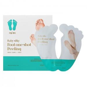 Носочки для педикюра Holika Holika Baby Silky Foot One Shot Peeling - 40ml