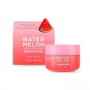 Увлажняющая ночная маска с арбузом HOLIKA HOLIKA Water Melon Aqua Sleeping Mask 50 мл