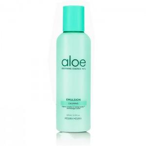 Успокаивающая эмульсия с алоэ вера HOLIKA HOLIKA Aloe Soothing Essence 90% Calming Emulsion - 200 мл