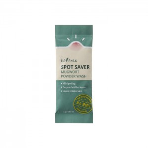Энзимная пудра с полынью IsNtree Spot Saver Mugwort Powder Wash 1 гр