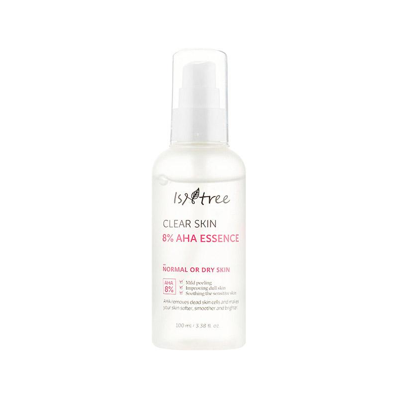 Обновляющая эссенция с АНА-кислотами IsNtree Clear Skin 8 AHA Essence 100 мл