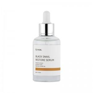 Сыворотка с муцином улитки для обновления кожи iUNIK Black Snail Restore Serum 50 мл
