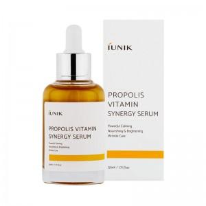 Витаминная сыворотка с прополисом iUNIK Propolis Vitamin Synergy Serum 50 мл
