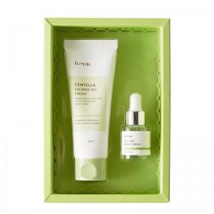 Набор для проблемной кожи крем-гель и сыворотка iUNIK Centella Edition Skincare Set