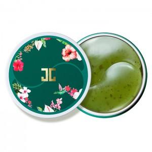Гидрогелевые патчи с лепестками зелёного чая JAY JUN Green Tea Eye Gel Patch - 60 шт