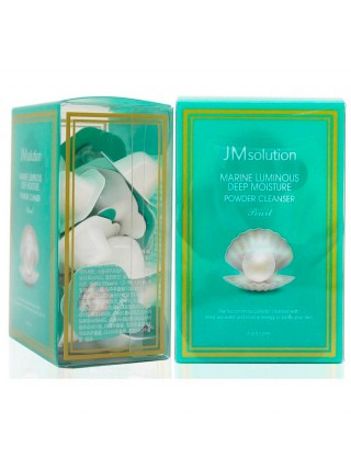 Энзимная пудра с жемчугом JM Solution Marine Luminous Deep Moisture Powder Cleanser Pearl