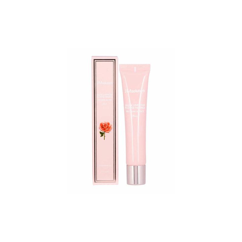 Крем для кожи вокруг глаз и лица с экстрактом розы JM Solution Glow Luminous Flower Firming Eye Cream All Face 40мл