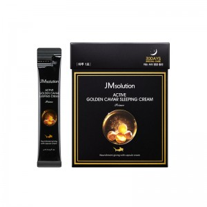 Ночной крем с икрой JMsolution Active Golden Caviar Sleeping Cream 4 мл