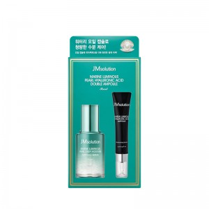 Набор сывороток JMSolution Marine Luminous Pearl Hyaluronic Acid Double Essence 30 мл+15 мл