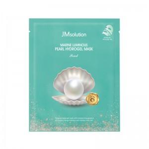 Гидрогелевая маска с экстрактом жемчуга JMsolution Marine Luminous Pearl Hydrogel Mask Pearl 30 мл