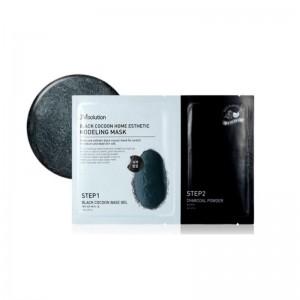 Моделирующая маска с древесным углем JMSolution Black Cocoon Home Esthetic Modeling Mask 55мл