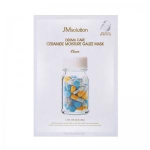 Тканевая маска с керамидами для чувствительной кожи JMsolution Derma Care Ceramide Moisture Gauze Mask 25 мл