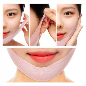 Лифтинг-маска для подбородка с розой JM Solution Glow Luminous Flower Lift-up V Mask Rose - 1 шт