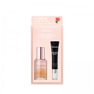 Набор сывороток с розой JMSolution Glow Luminous Flower Hyaluronic Acid Double Essence 30 мл+15 мл