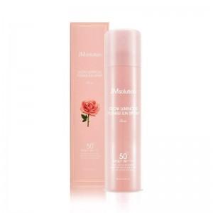 Омолаживающий солнцезащитный спрей с розой JMsolution Glow Luminous Flower Sun Spray SPF50+ PA++++ 180мл