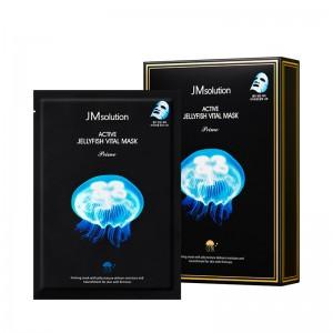 Ультратонкая тканевая маска с экстрактом медузы JMsolution Active Jellyfish Vital Mask Prime - 33 мл