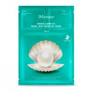 Трехступенчатый увлажняющий набор с жемчугом JM Solution Marine Luminous Pearl Deep Moisture Mask - 1 шт