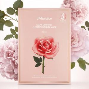 Увлажняющая маска с розой  JMsolution Glow Luminous Flower Firming Mask Rose - 30 мл
