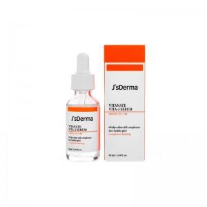 Сыворотка с ниацинамидом для выравнивания тона JsDERMA Vitanate Vita-3 Serum 30 мл