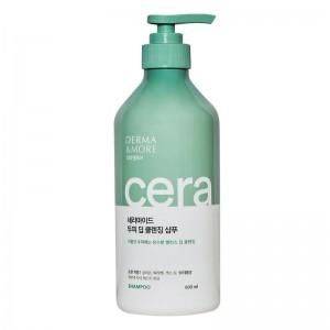 Шампунь для глубокого очищения KeraSys Derma More Ceramide Deep Cleansing Shampoo 600мл