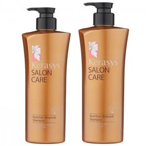 Шампунь для питания волос KeraSys Salon Care Nutritive Ampoule Shampoo 470/600 мл