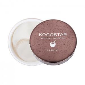Гидрогелевые патчи для глаз с кокосом KOCOSTAR Tropical Eye Patch Coconut - 30 пар