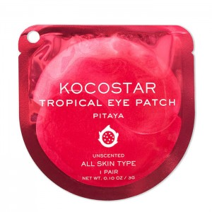 Гидрогелевые патчи для век с питихайей KOCOSTAR Tropical Eye Patch Pitaya - 1 пара