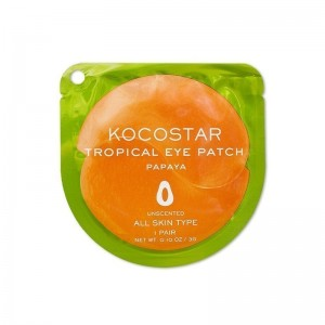 Гидрогелевые патчи для век с папайей KOCOSTAR Tropical Eye Patch Papaya - 1 пара