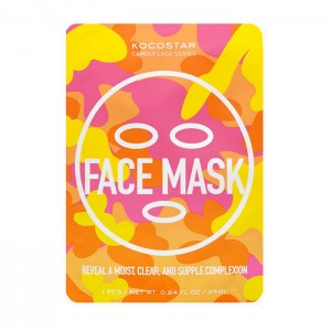 Тканевая маска для лица KOCOSTAR Face Mask Camouflage - 25 мл