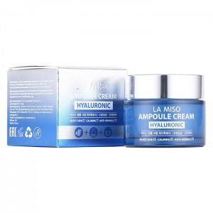 Ампульный крем с гиалуроновой кислотой LA MISO Ampoule Cream Hyaluronic - 50 мл