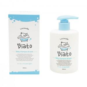 Детский шампунь-пенка для купания 2 в 1 LACOUVEE Biato Baby Shampoo and Bath - 300 мл