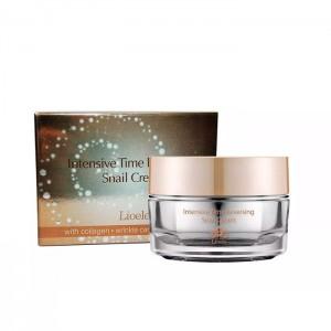 Крем с улиточным муцином LIOELE Intensive Time Reversing Snail Cream - 50 мл