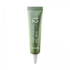 Очищающий лосьон для кожи головы MASIL 12 Scalp Spa Cleansing Lotion 15 мл