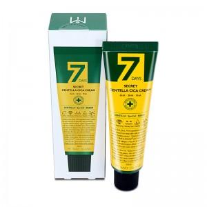 Восстанавливающий крем для проблемной кожи MAY ISLAND 7 Days Secret Centella Cica Cream AHA/BHA/PHA 50 мл