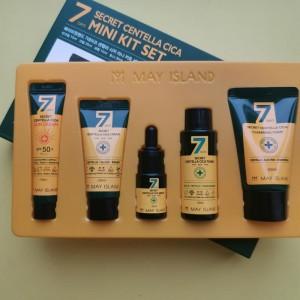Набор миниатюр для проблемной кожи MAY ISLAND 7 Days Secret Centella Cica Mini Kit 5 Set