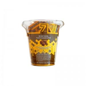 Сахарный скраб для лица MAY ISLAND 7 Days Secret Royal Black Sugar Scrub 1шт/12шт